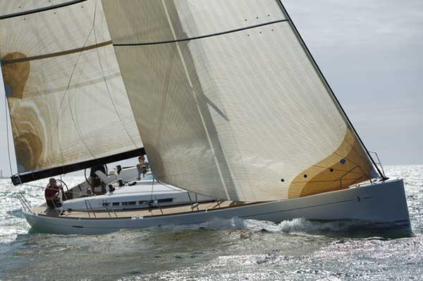 Sail Racing Yacht